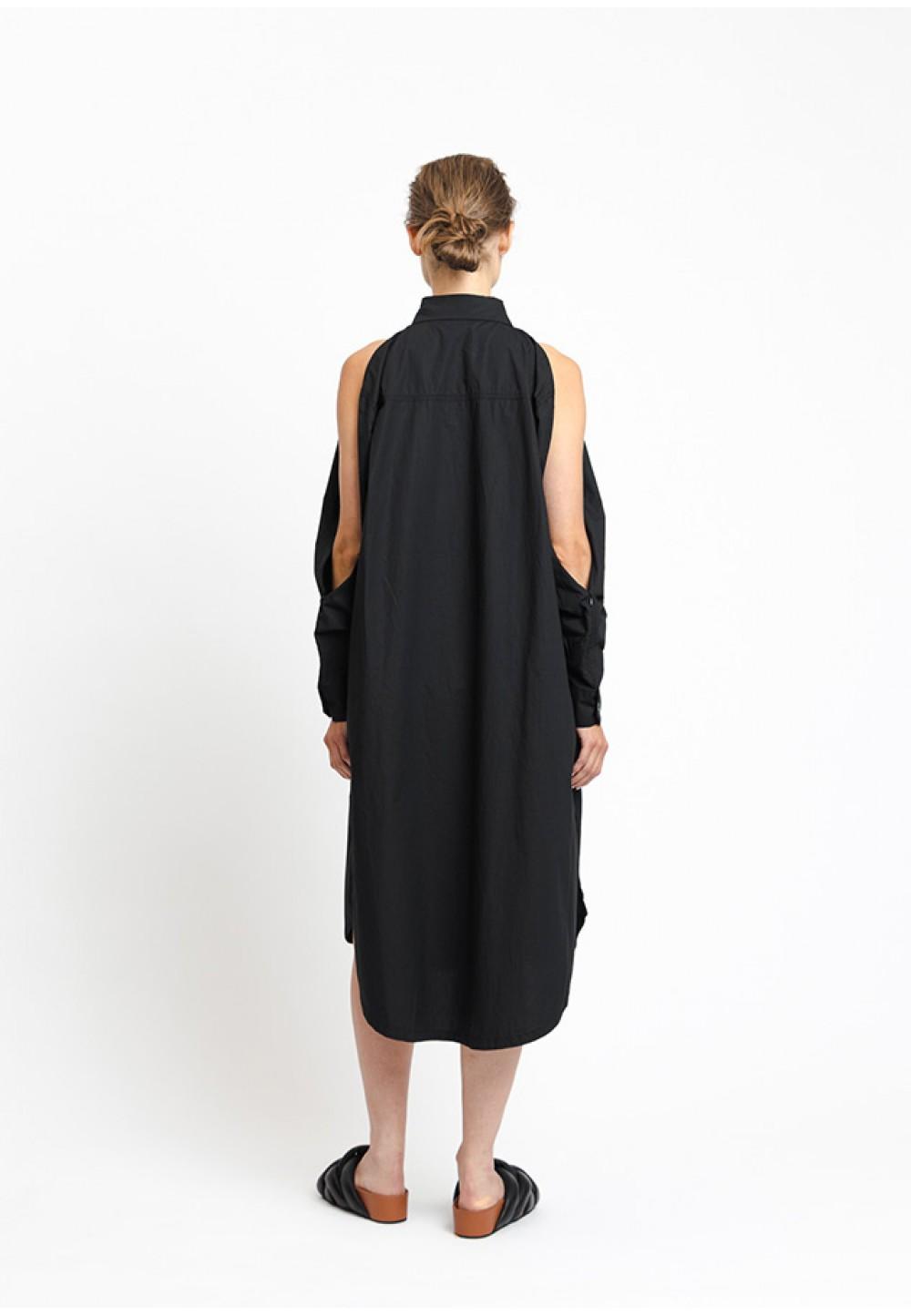 Бавовняна сукня-сорочка