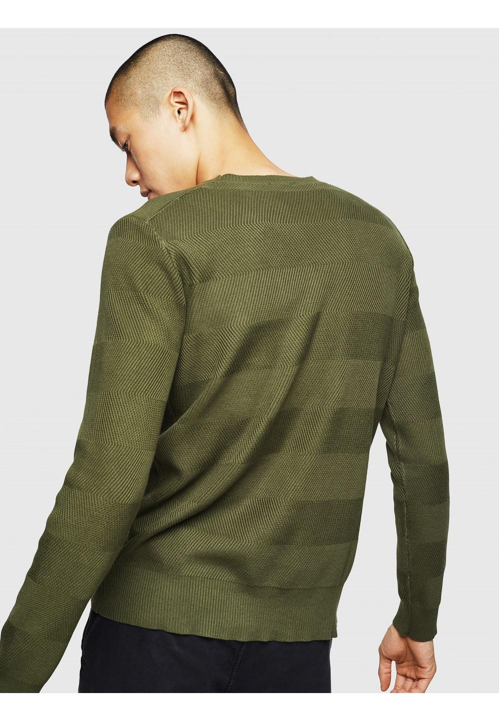 Мужской фактурный пуловер