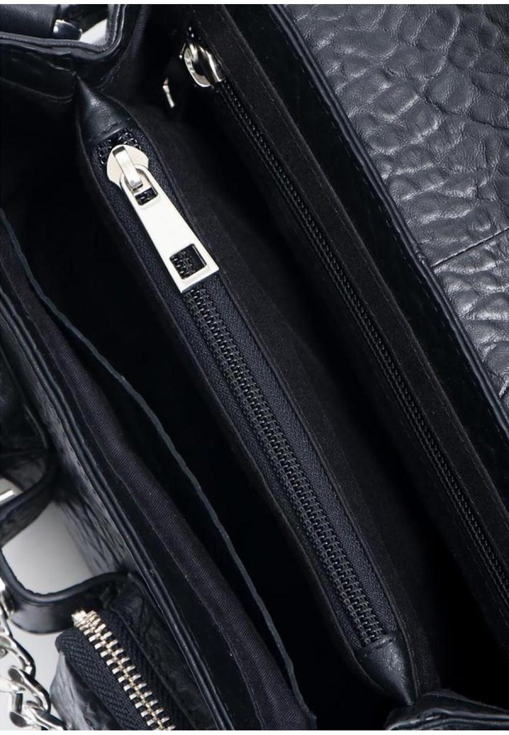 Компактна чорна сумка Honey new zealand