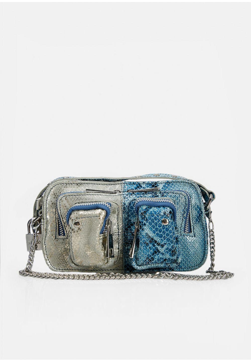 Стильная двухцветная сумка