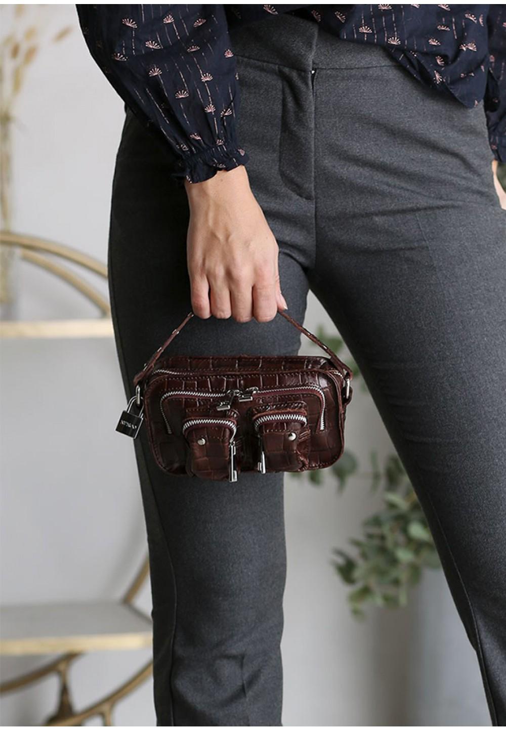 Текстурированная сумка через плечо