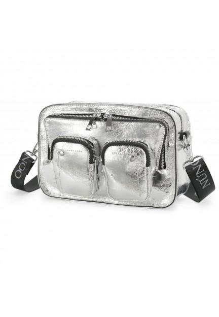 Серебряная сумка Ellie