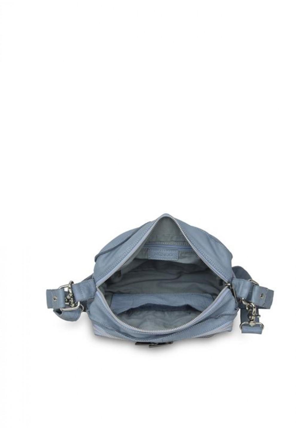 Стильная голубая сумка