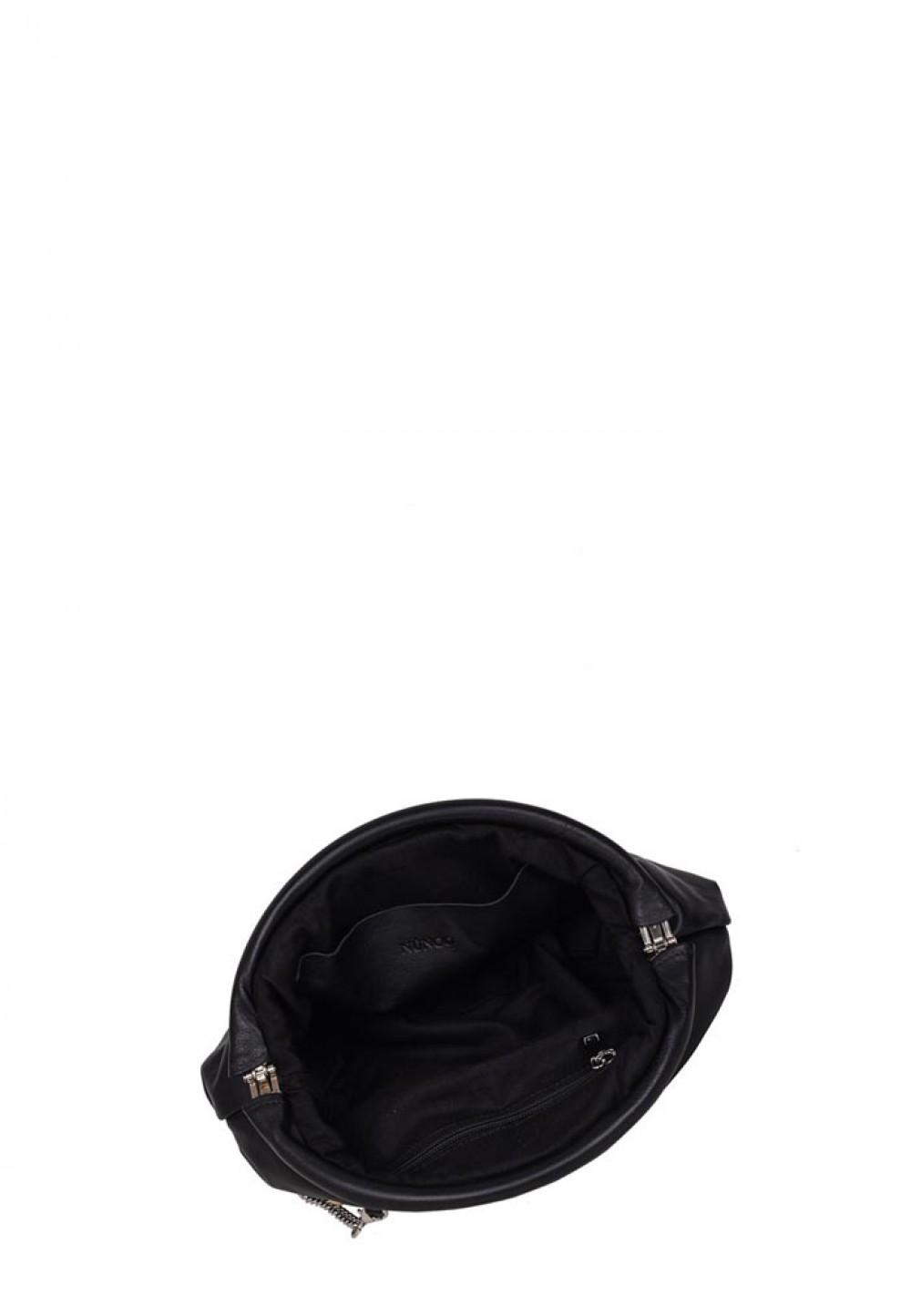 Чорна жіноча сумка Saki black w. multi stones