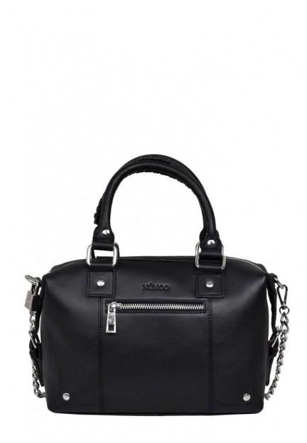 Класична чорна жіноча сумка Small Bobby pure
