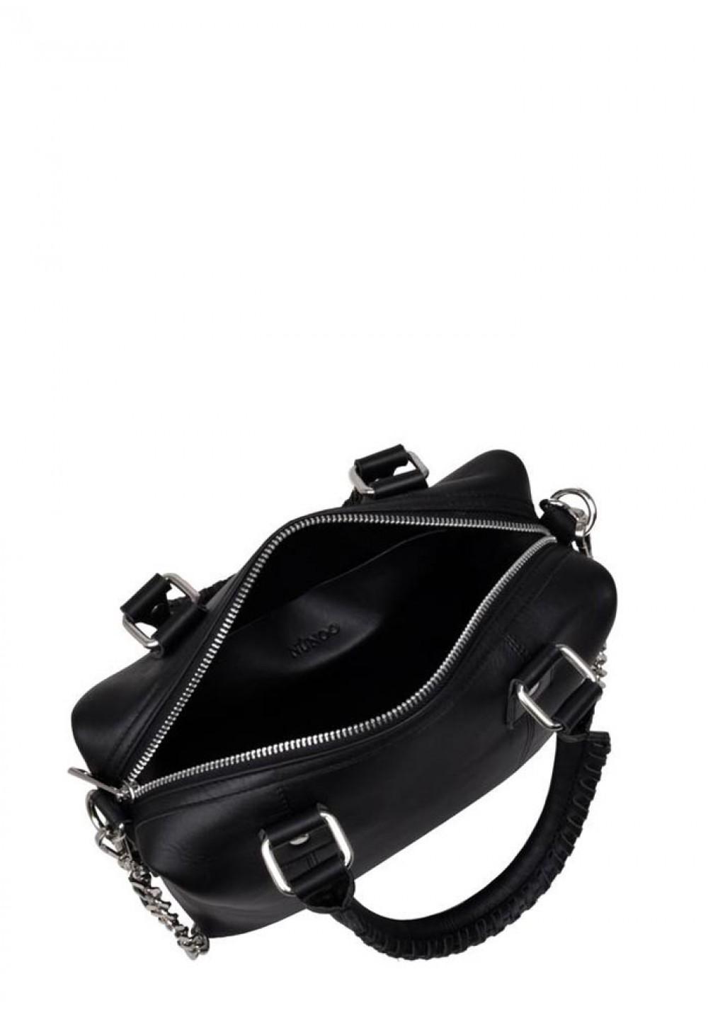 Классическая черная женская сумка Small Bobby pure