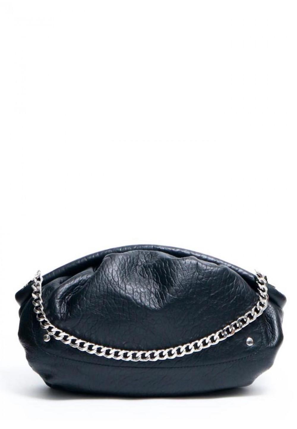 Стильна жіноча чорна сумка Lin chain new zealand