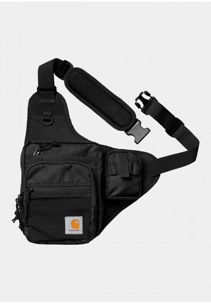 Чорна сумка через плече
