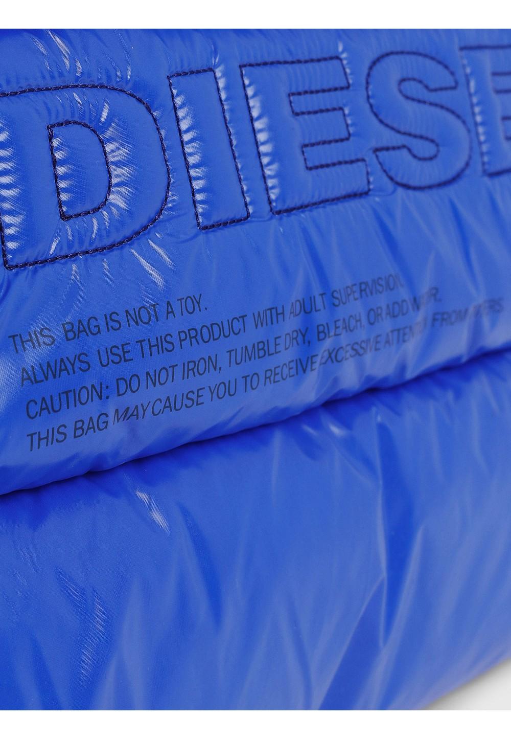 Голубая сумка-шоппер