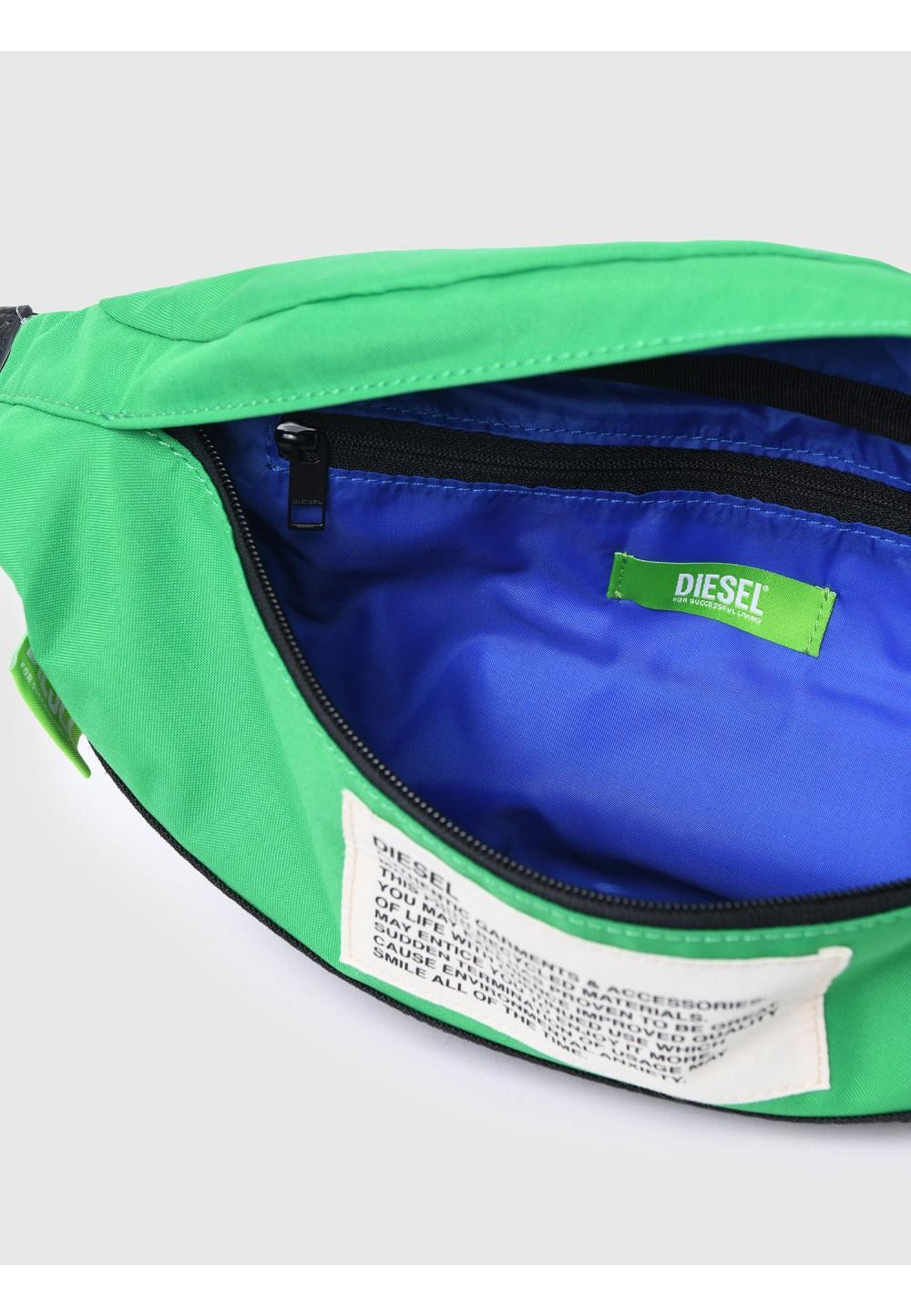 Поясна сумка Green Label з кольоровими блоками