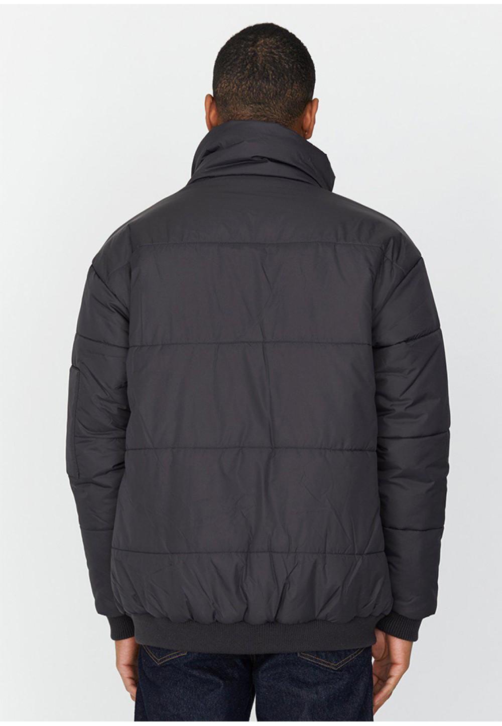 Теплая графитовая куртка Devo Puffer Jacket