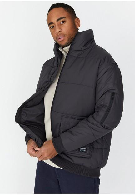 Тепла графітова куртка Devo Puffer Jacket
