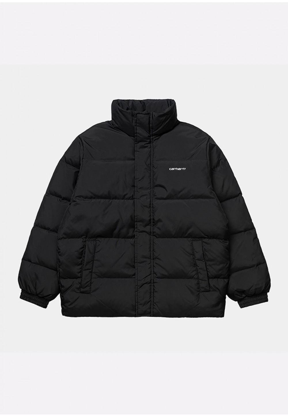 Теплая куртка черного цвета