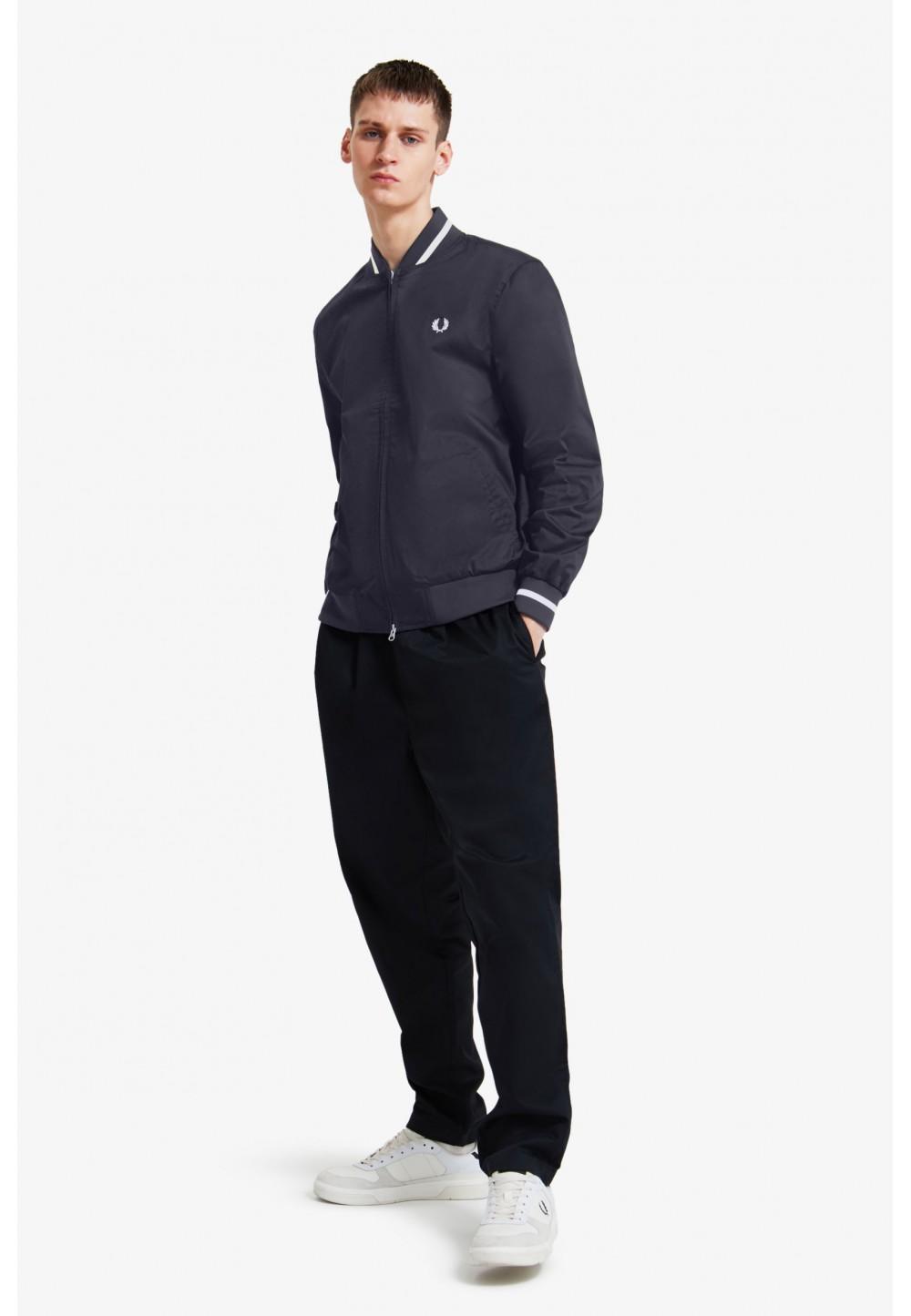 Куртка-Бомбер синего цвета