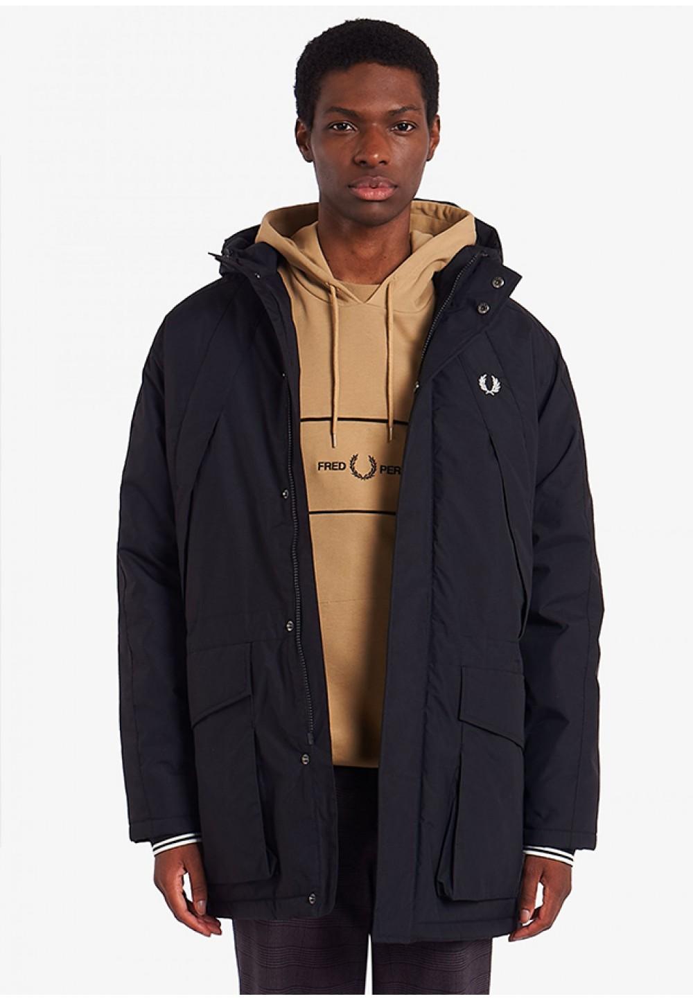 Утепленная куртка на молнии