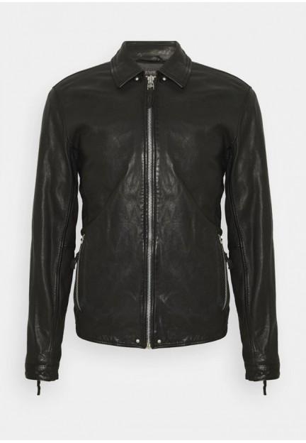 Стильна шкіряна куртка