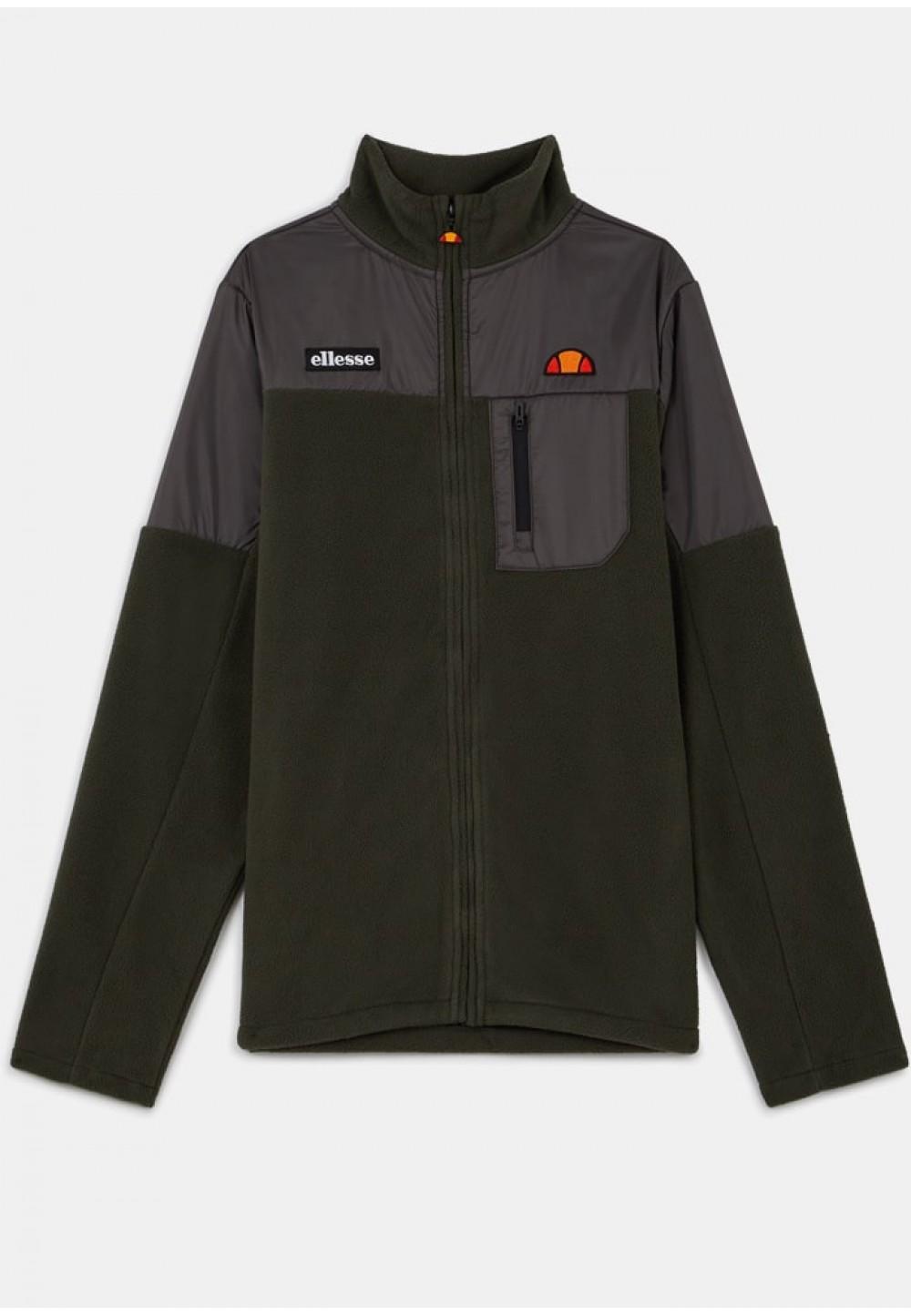 Теплая куртка мужская цвета хаки