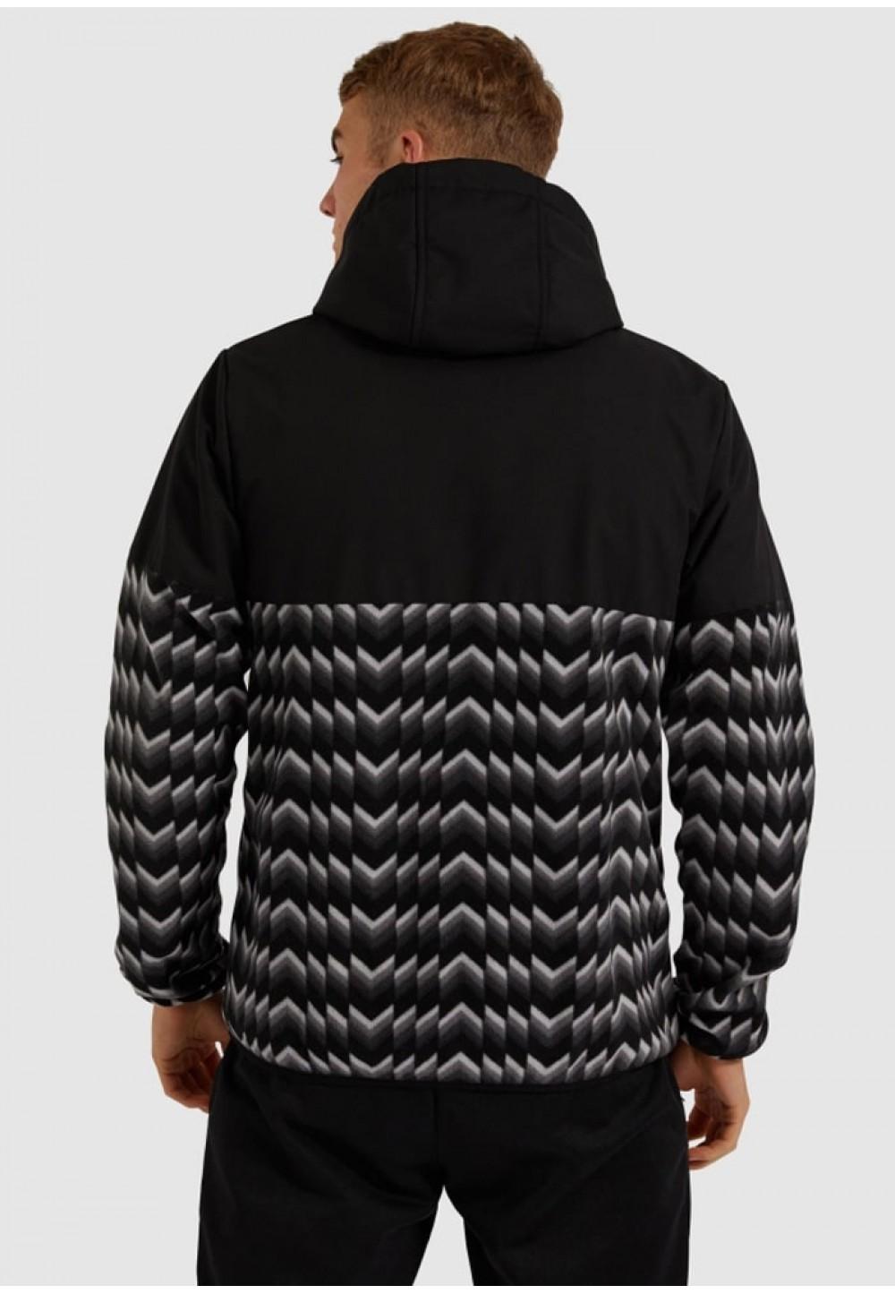 Стильная мужская куртка с принтом