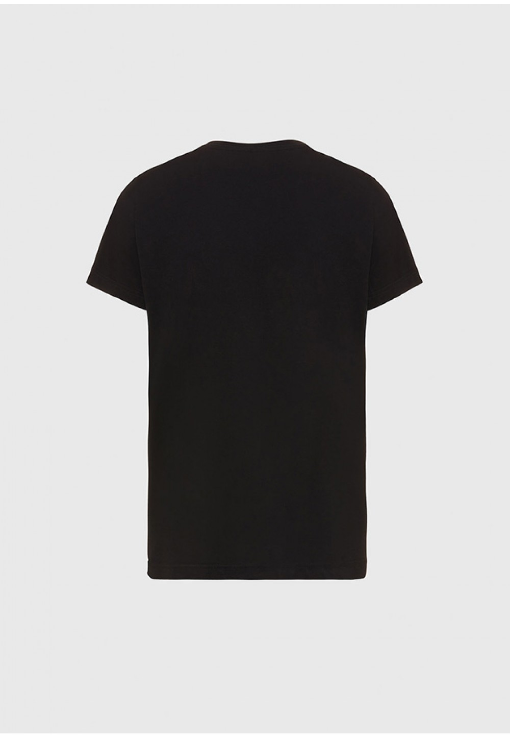 Хлопковая футболка с логотипом на груди