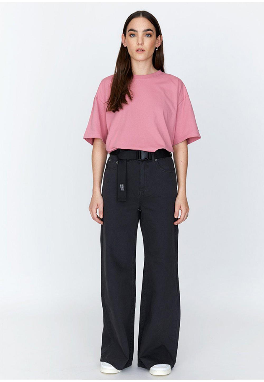Розовая футболка свободного кроя Valeria Tee