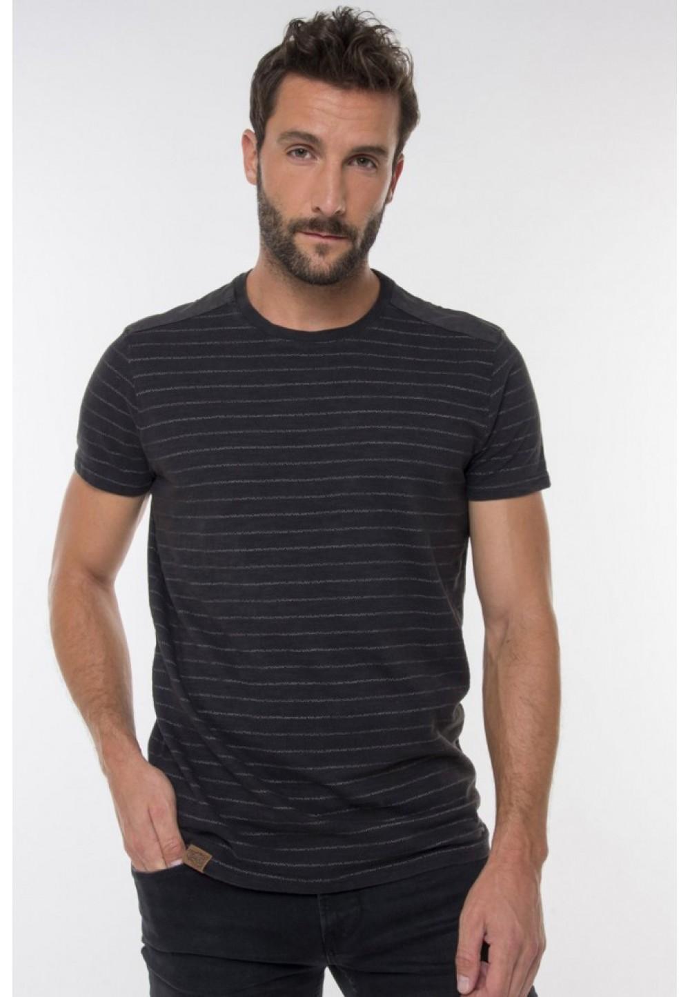Хлопковая футболка striped