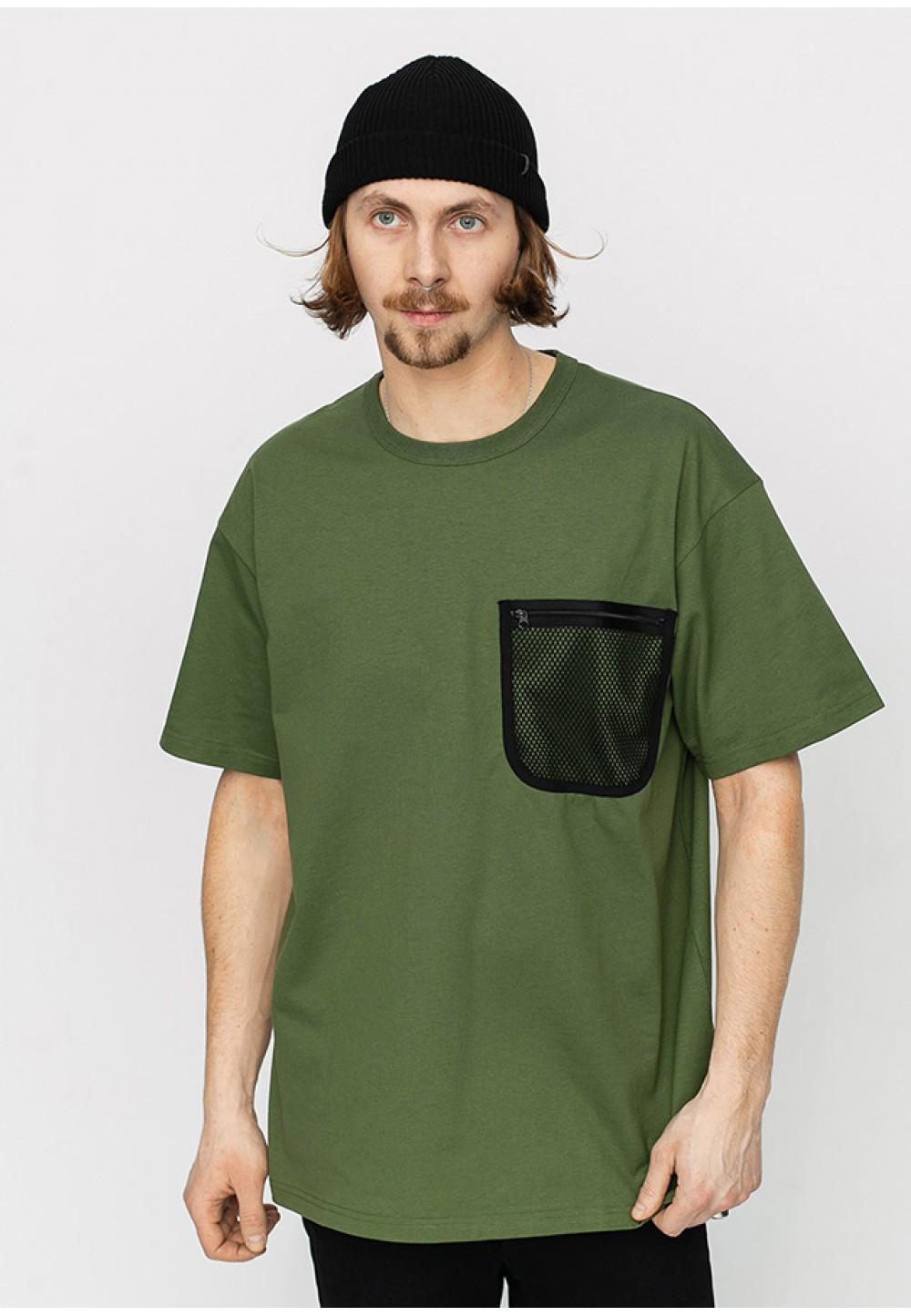 Мужская футболка с накладным карманом