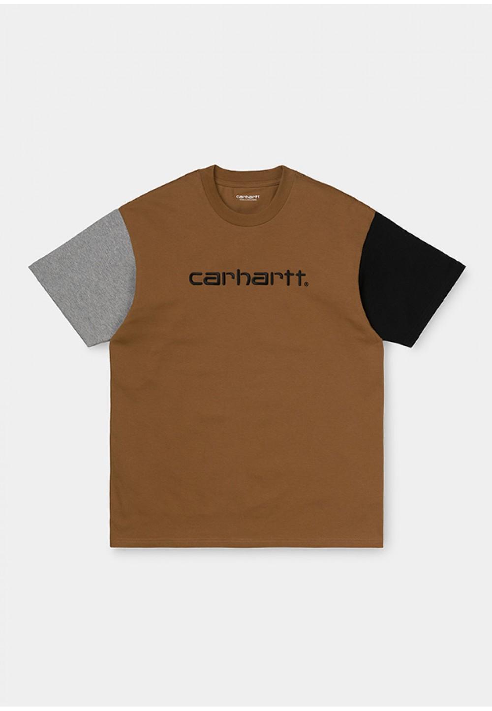 Стильная футболка с вышивкой логотипа