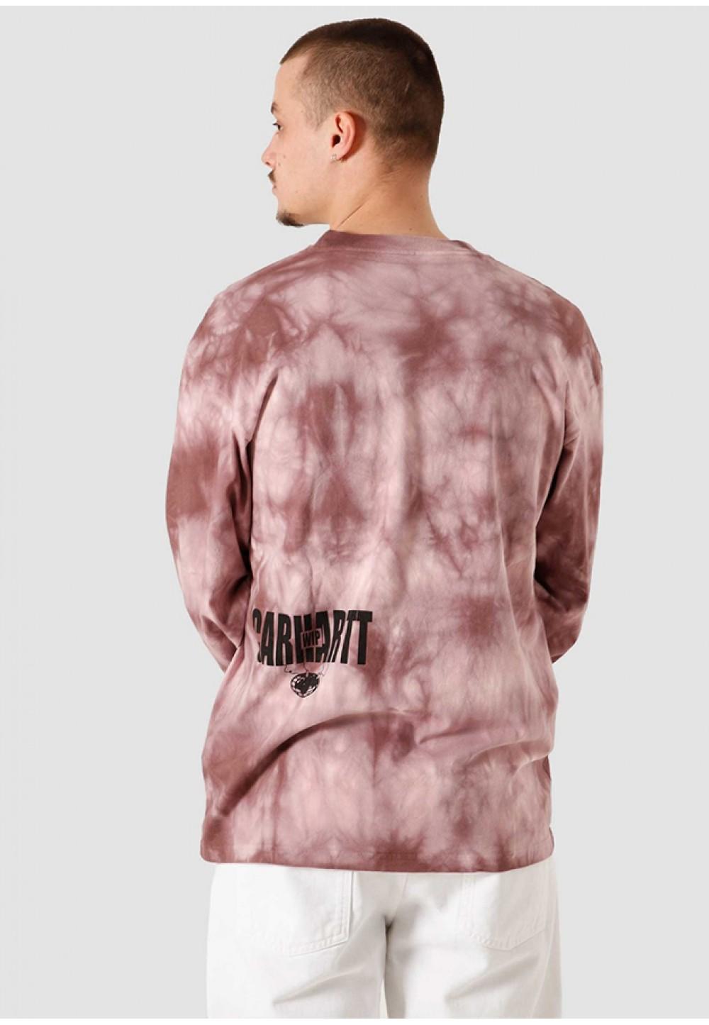 Яркая футболка с длинным рукавом
