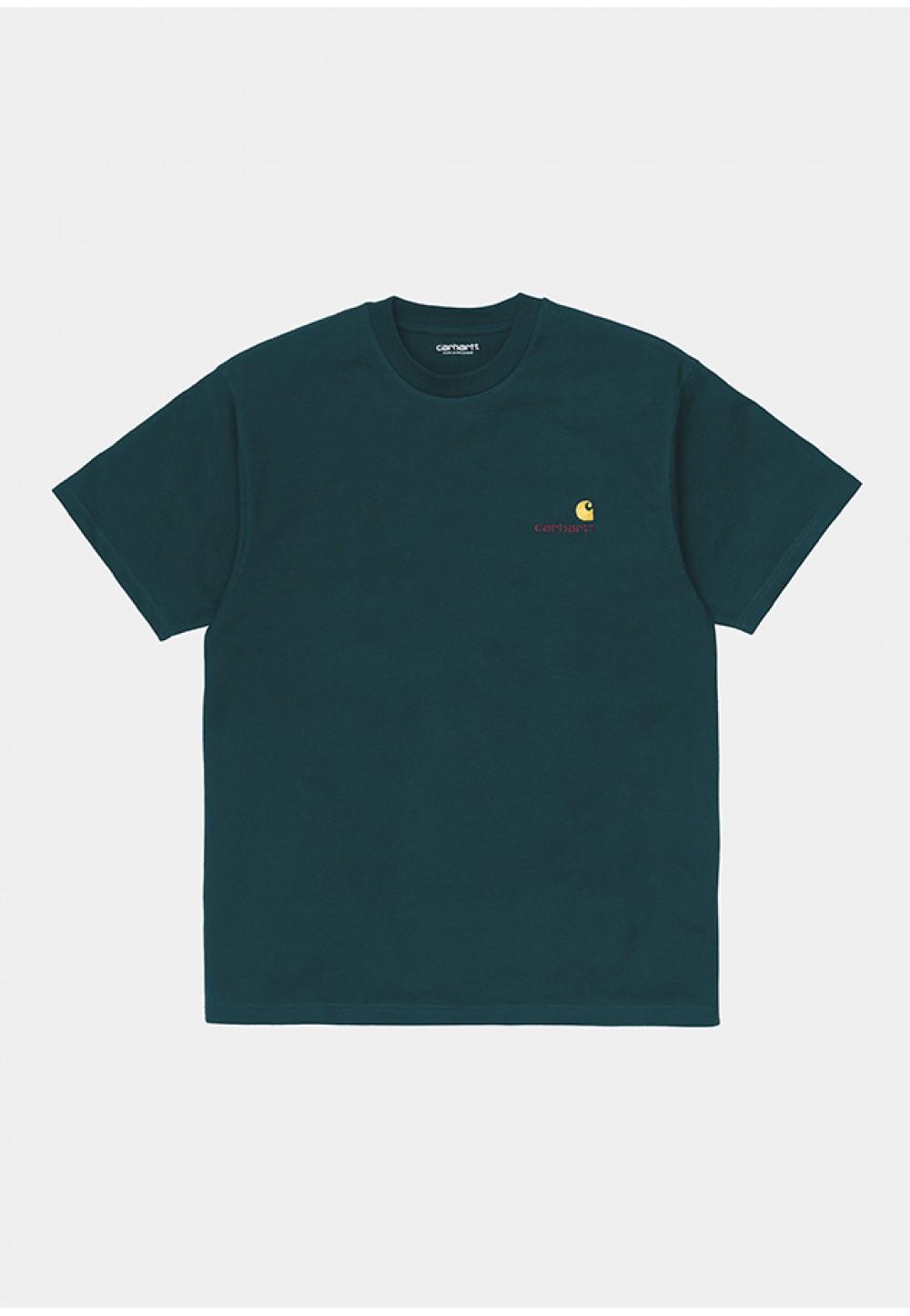 Яркая хлопковая футболка  с логотипом