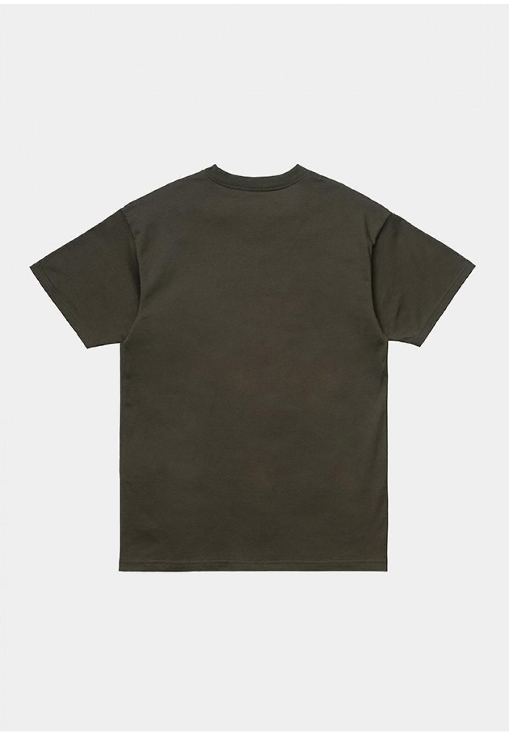 Хлопковая футболка прямого кроя