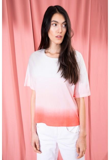 Жіноча футболка LUNIE з градієнтом
