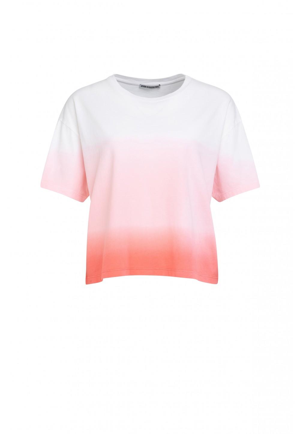Женская футболка LUNIE  с градиентом