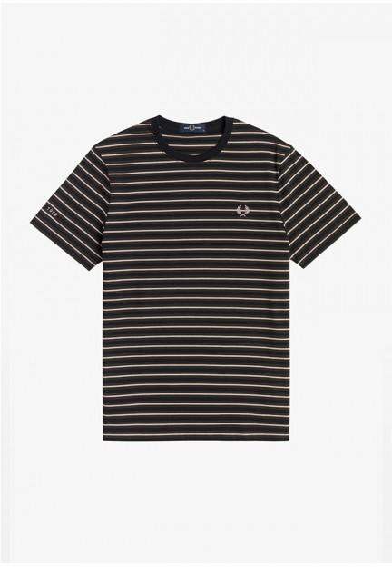 Бавовняна футболка в полоску