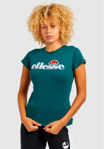 Жіноча футболка смарагдового кольору