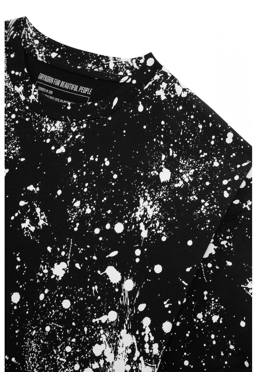 Мужская футболка THILO с брызгами краски