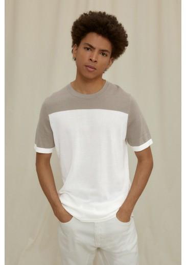 Трикотажная футболка VALENTIN прямого силуэта