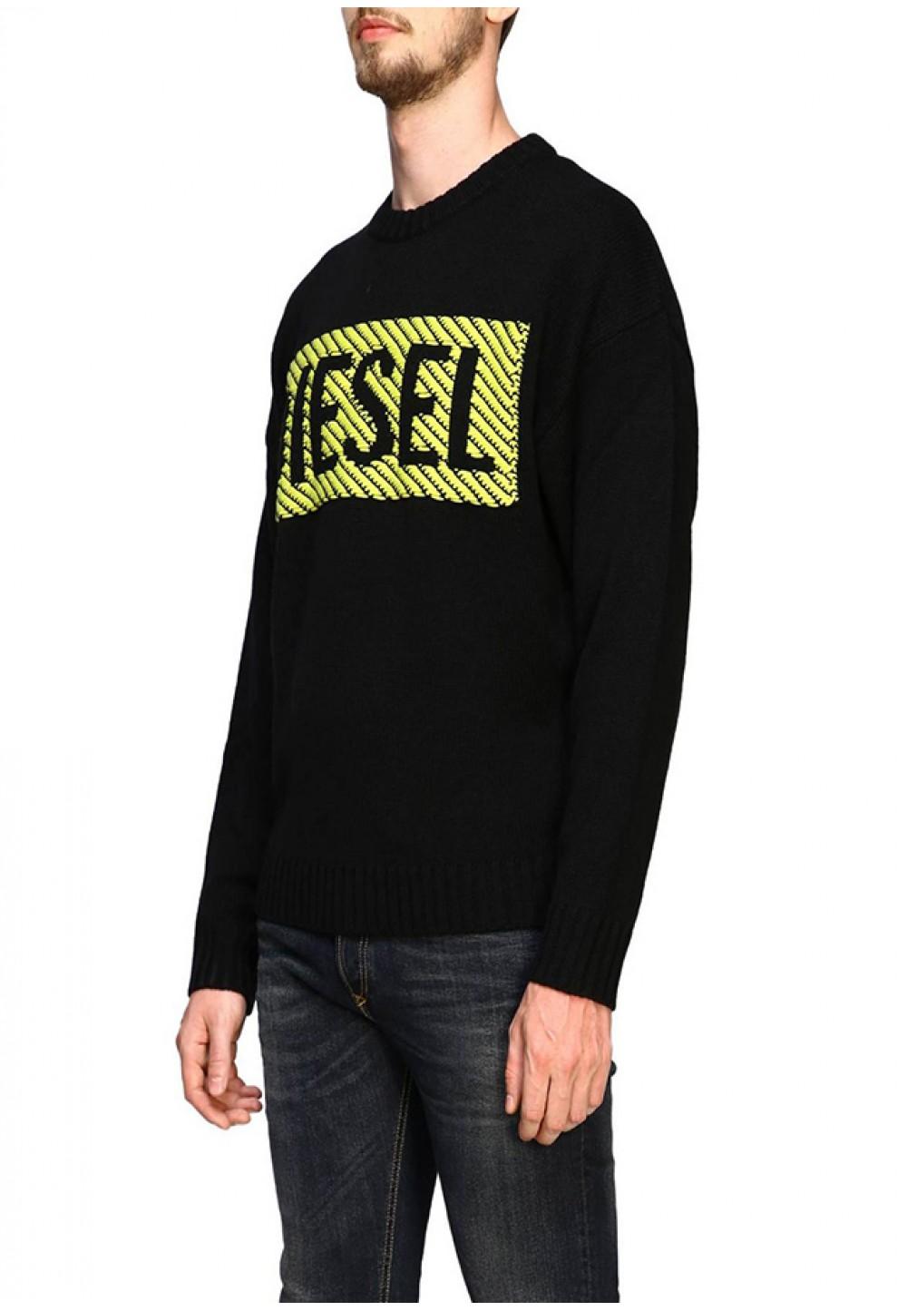 Мужской пуловер с логотипом