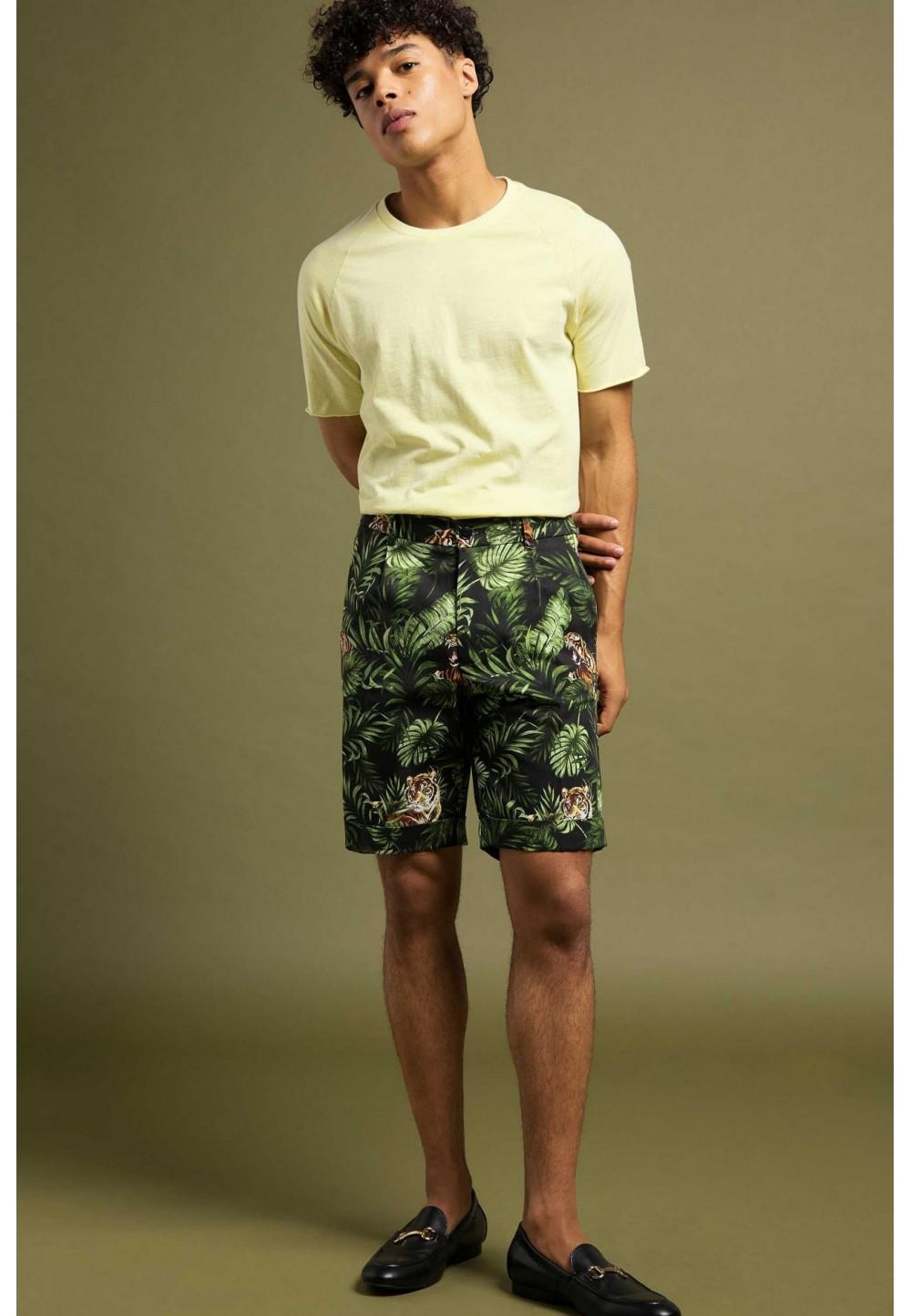 Мужские шорты с принтом BORD
