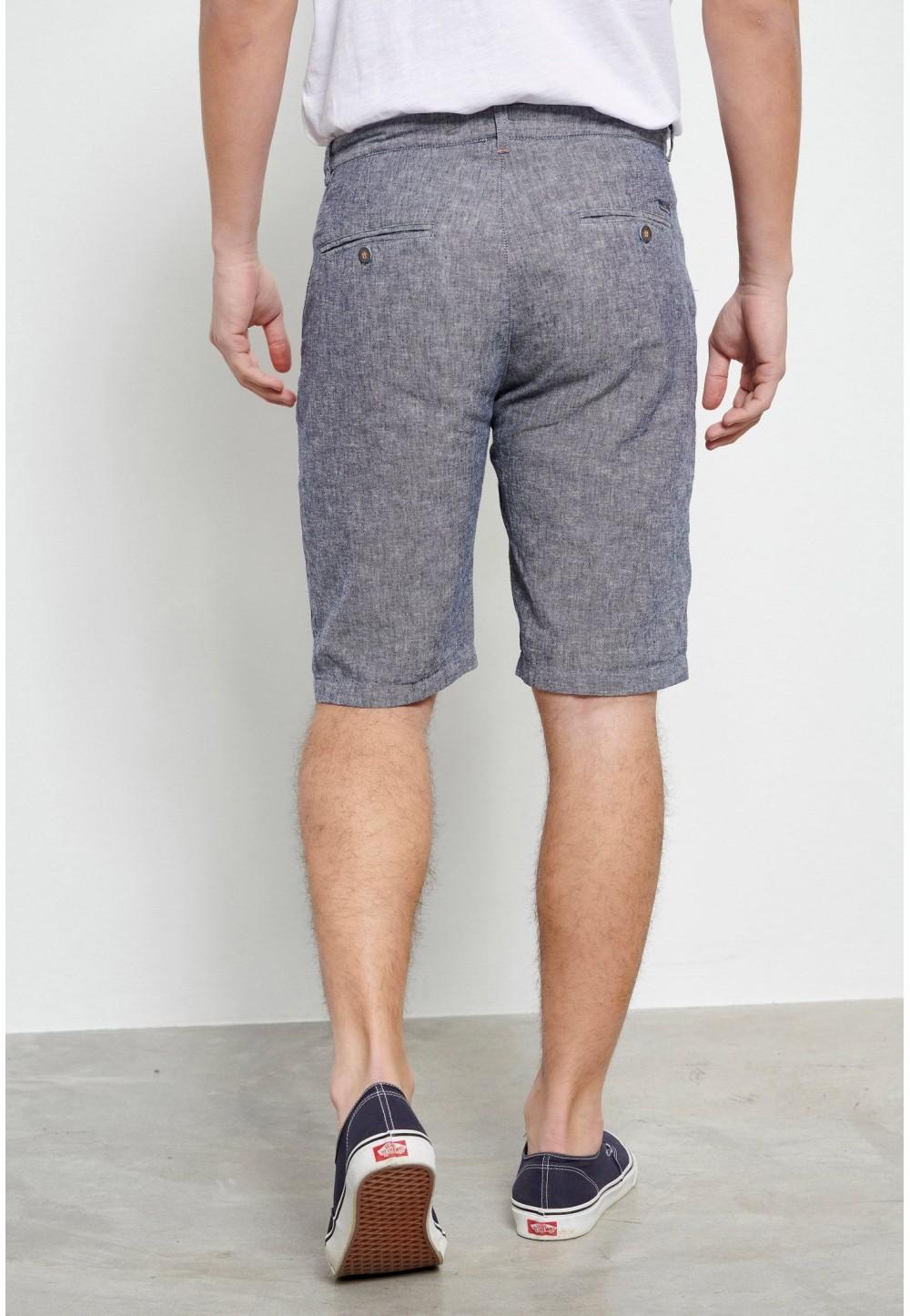 Мужские льняные шорты Chino