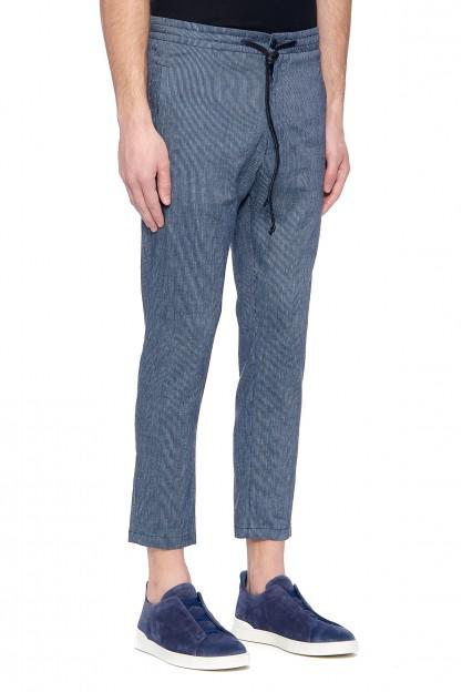 Мужские льняные брюки JEGER
