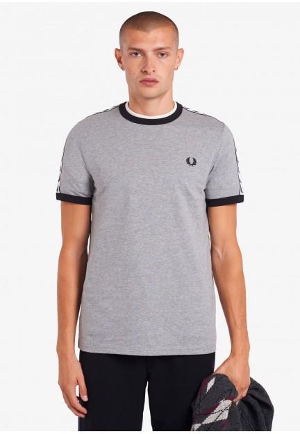 Мужская футболка с тесьмой Ringer