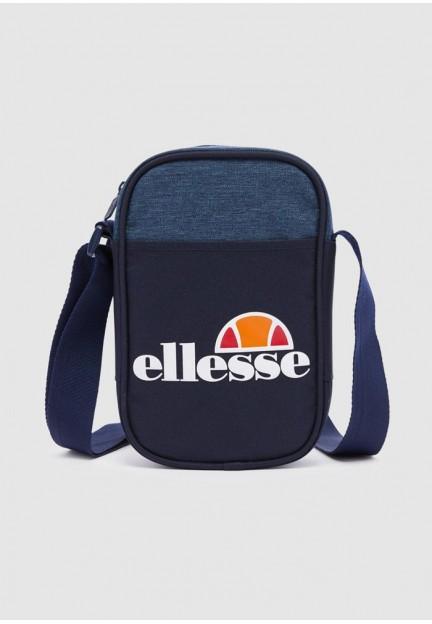 Мужская сумка через плечо синего цвета