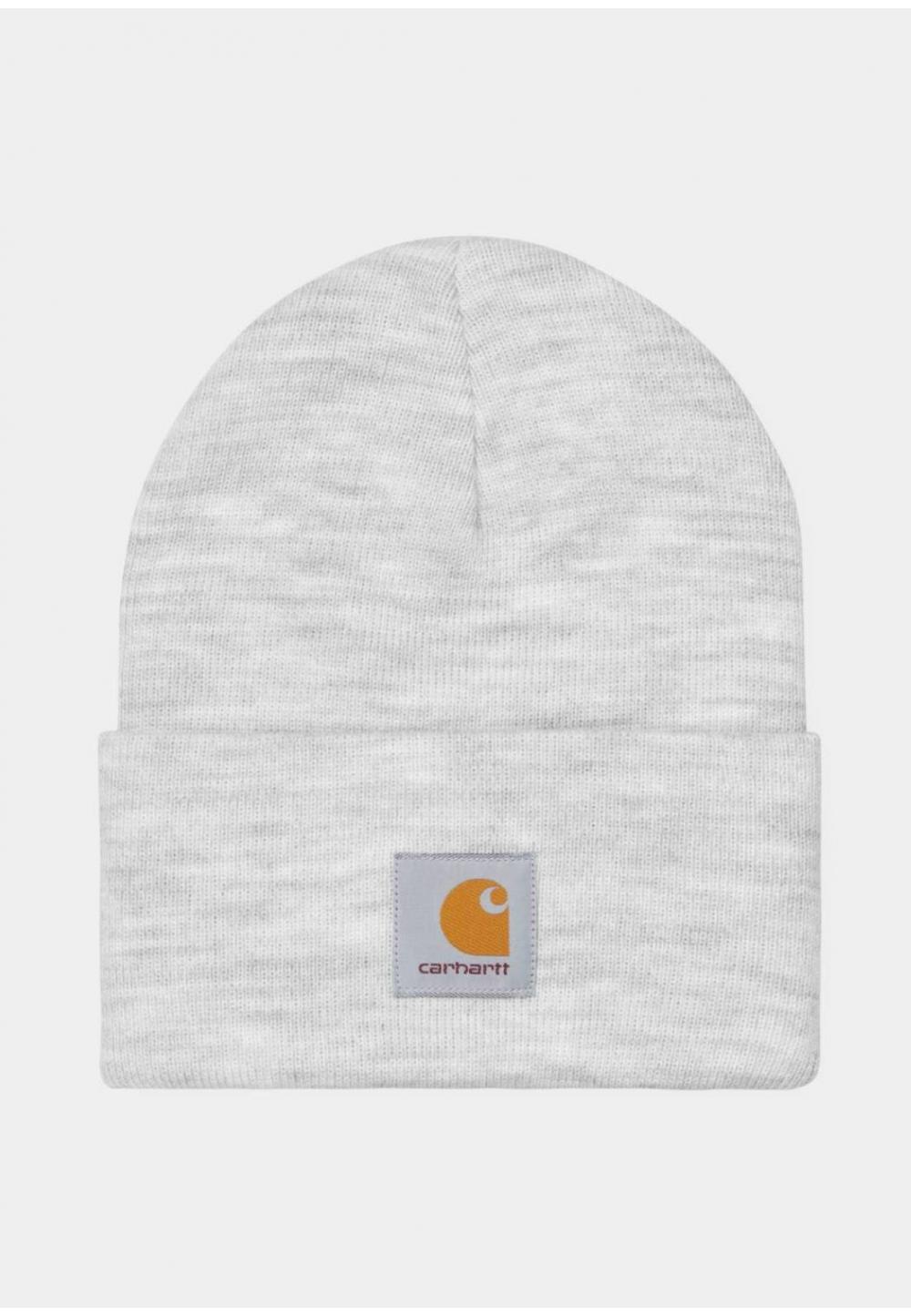 Светло-серая универсальная шапка