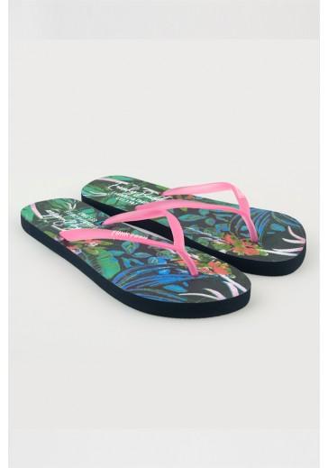Цветные пляжные шлепанцы