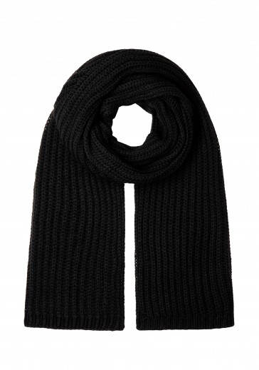 Вязаный шерстяной шарф