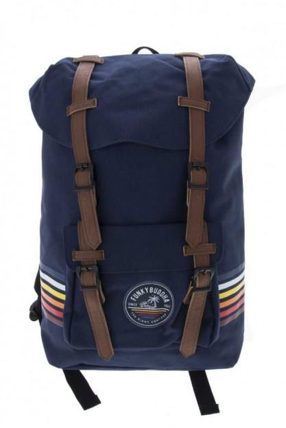 Рюкзак на ремешках синий