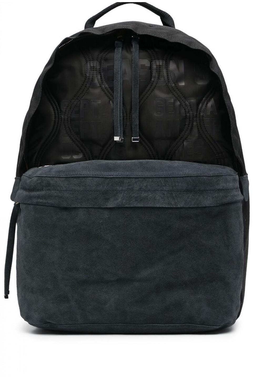 Стильный стеганный рюкзак с логотипом