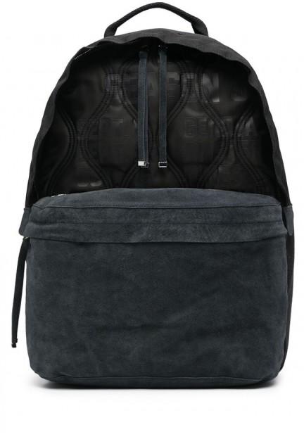 Стильний стьобаний рюкзак з логотипом
