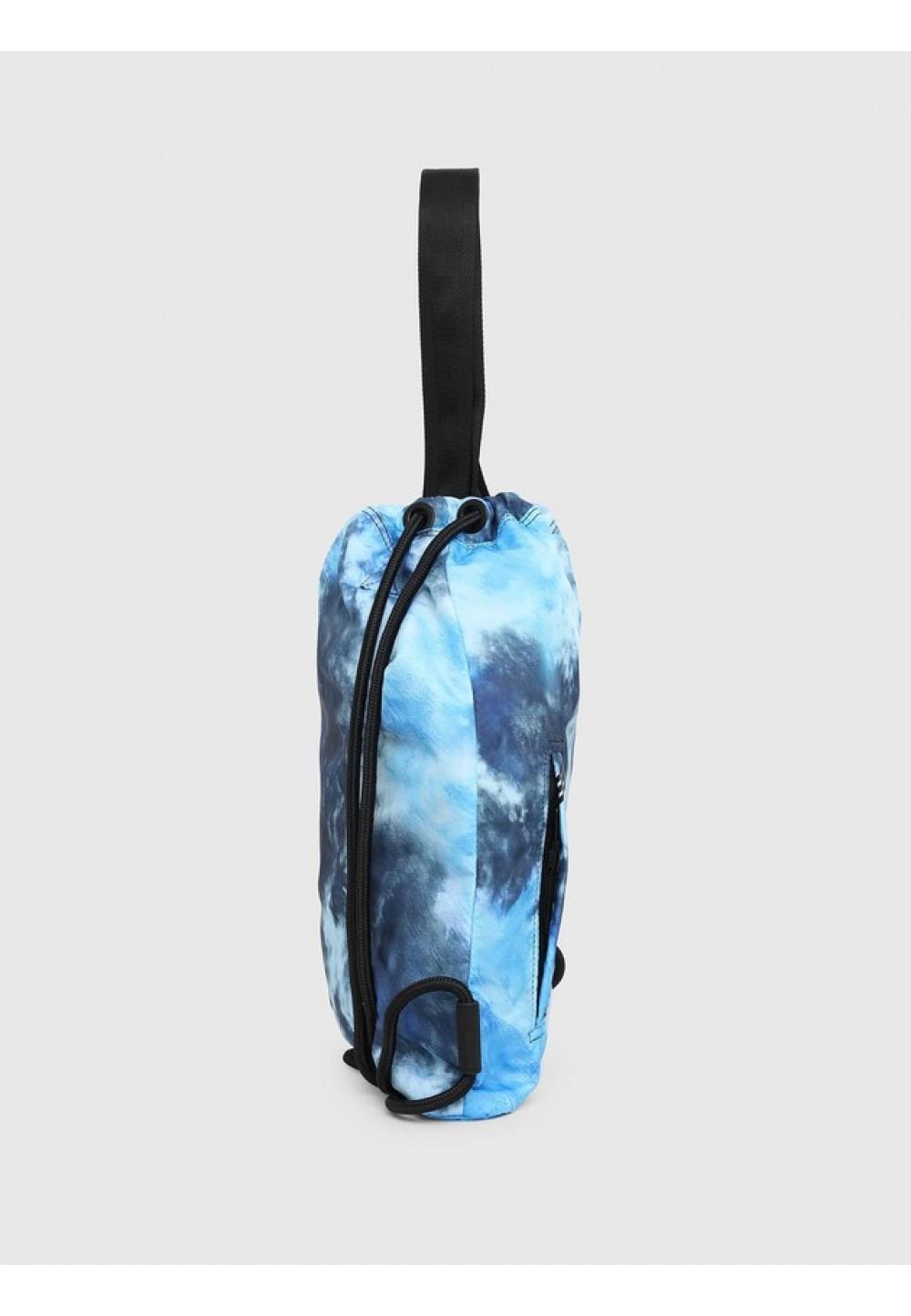 Рюкзак-шоппер зі світлого нейлону