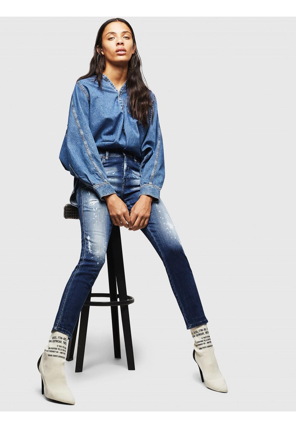 Джинсы Slim модель Babhila